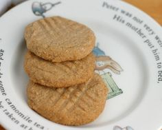 SCD Cinnamon Cookies - Good, easy. Will make thinner next time and cook longer to make crunchier. Variation: Sub vanilla for cinnamon and sprinkle cinnamon on top of cookies; don't flip over.