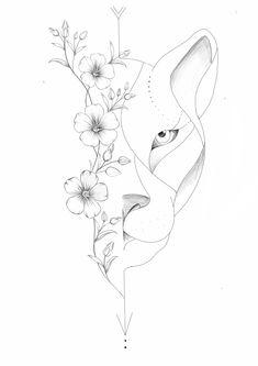 Leo Tattoos, Bild Tattoos, Cute Tattoos, Beautiful Tattoos, Body Art Tattoos, Tattoo Design Drawings, Tattoo Sketches, Monster Tattoo, Petit Tattoo