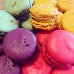 We have a dazzling selection of colourful macarons from #patisseriemadeleine to enjoy alongside your tea of choice. Pop in store to discover the flavours! #macaron #tea #pekoetea #stockbridgeedinburgh #Stockbridge #Edinburgh #Scotland