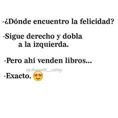 Libros=felicidad