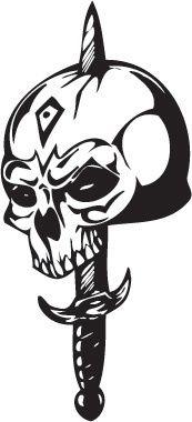 Hauk's assassin tattoo