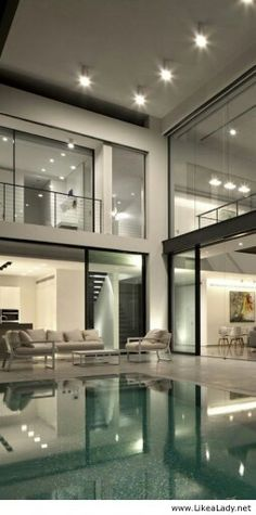 Large Modern Home Design Tec Html on