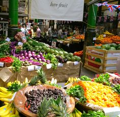 Borough market, London #healthfood