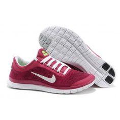 Billig pris Nike Free 3.0 Lær Damesko Pink Hvid Sko Online|Cool Nike Free 3.0 Lær Sko Online|Nike Free Sko Online Shop|dkfree.com