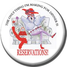 Red Hat Button 419 - Reservations