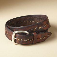 Men's Tuscan Studded Belt