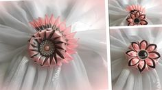Kanzashi/ Канзаши, цветочки/ МК/ DIY/new petals/