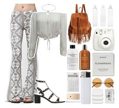 """""""Coachella Style x"""" by mickiefantasyworldx ❤ liked on Polyvore featuring Volcom, Topshop, The Code, Valentino, Seletti, philosophy, River Island, Molton Brown, Fujifilm and Muji"""