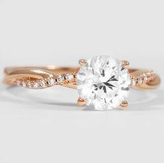 Simply stunning rose gold diamond ring.