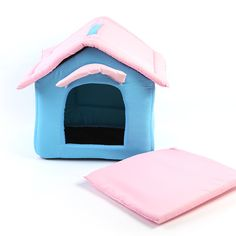 2016 Portable Dog House - Soft, Warm and Comfortable dog bed, fashion blue Kennel //Price: $20.95 & FREE Shipping //     #lovecats #lovepuppies #lovekittens #furry #eyes #dogsitting