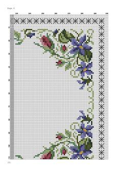 Cross Stitch Flowers, Cross Stitch Patterns, Needlepoint, Watercolor Art, Diy And Crafts, Embroidery, Sewing, Fun, Cross Stitch Love