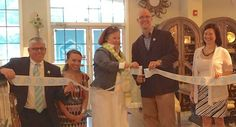 @Angie Wimberly Woodworth's Fine Furniture and Decor To officially launch the new HGTV HOME Furniture Collection at Woodchuck's Furniture, Linda Woodrum, HGTV Smart Home interior designer helped Doug Correia, president of Woodchuck's Furniture cut the ribbon.  http://furninfo.com/Furniture%20Industry%20News/1935