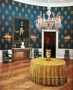 The is the official residence and workplace of the President of the United States. It is located at 1600 Pennsylvania Avenue NW in Washington, D. White House Rooms, White House Interior, White House Tour, Blue Rooms, White Rooms, Office Interior Design, Les Kennedy, Jackie Kennedy, White House Washington Dc