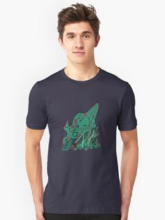 'Christmas Tree ' T-Shirt by madtoyman My T Shirt, V Neck T Shirt, Tee Shirts, Cleveland, Silhouette S, Unisex, Looks Cool, Funny Tees, Tshirt Colors