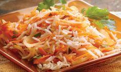 Receta de arroz con jengibre y zanahoria - Confirmado