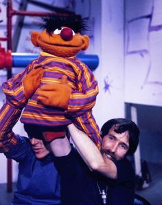 Retronaut - Behind the scenes with the Muppets (1970s) -