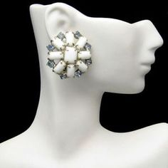 large 1980s clip earrings - Yahoo Image Search Results