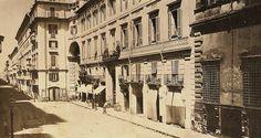 via del corso 1865 Street View, Rome