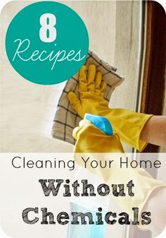 I love cleaning my home without chemicals.  It's easy and cheap. #healthy