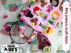 trinket bag #fabric #handmade #partybags #charliemoos
