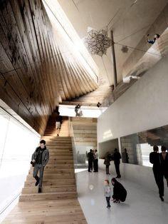 Kimball Art Center, render courtesy BIG