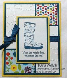 Barbara Welch, CreativeStampinSpot.blogspot.com CQS Swap Card