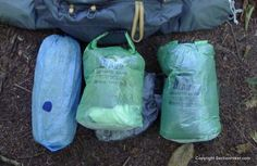 Granite Gear eVent Uberlight Cuben Fiber Dry Sacks - http://sectionhiker.com/granite-gear-event-uberlight-cuben-fiber-dry-sacks/