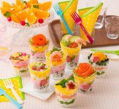 Chirashi Sushi Cups