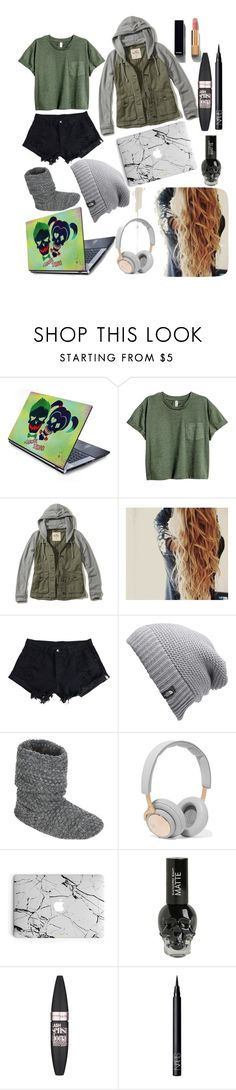 """""""haters gonna hate"""" by ivy-mary-clark ❤ liked on Polyvore featuring Hollister Co., WithChic, The North Face, John Lewis, B&O Play, Maybelline, NARS Cosmetics and Chanel"""