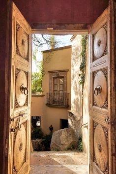 #Courtyard Luxury real estate in San Miguel de Allende, Mexico - Casa de los Sueños - JamesEdition