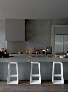 Concrete beach house | Interior Design Ideas, Modern Furniture Design - zaINTERIORA.net