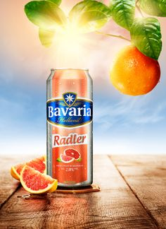 Bavaria Radler by Peek Creative Studios , via Behance