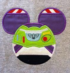 Mickey Mouse Space Rangers Buzz Lightyear Head disney