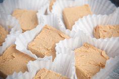 2 Ingredient Peanut Butter Fudge - so easy + yummy!