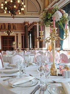 Pink, gold & ivory wedding styling by Debonair Venue Styling
