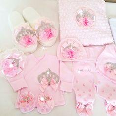 Pembiş anne bebek set
