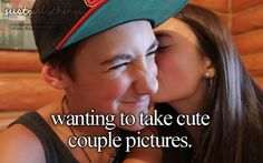 Wanting to take cute couple photos