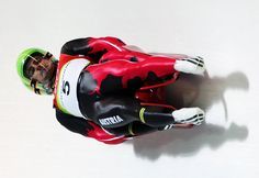 View striking Olympic Photos of Luge - see the best athletes, medal-winning performances and top Olympic Games moments. Luge, Mae West, Hobbies And Interests, Winter Sports, Olympic Games, Fit, Olympics, Athlete, Bobs