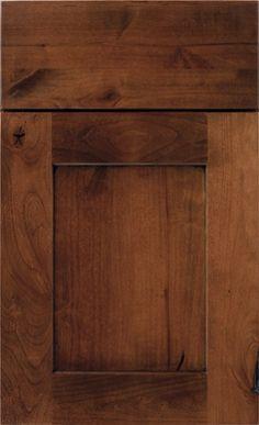 Rustic Kitchen Cabinet Door Styles | Diamond Cabinets Sumner Auburn on Rustic Alder