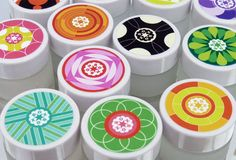 Bonbon limited edition lip balm packaging. Designed by Jack Featherston   Country: United Kingdom
