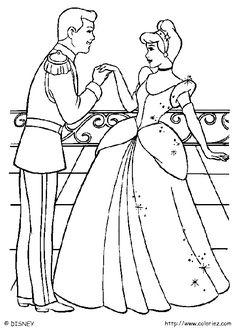 cinderella coloring pages disney - Are you looking for a Cinderella coloring book? Right timing, because Cinderella coloring pictures are here. If you wish, there is a beautiful collect. Dance Coloring Pages, Cinderella Coloring Pages, Wedding Coloring Pages, Disney Princess Coloring Pages, Disney Princess Colors, Disney Colors, Coloring Pages For Girls, Cartoon Coloring Pages, Coloring Pages To Print