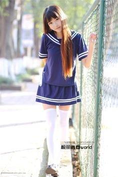 a sample image Cute Asian Girls, Cute Girls, Japonese Girl, Cute Kawaii Girl, School Girl Outfit, Oriental Fashion, Oriental Style, Japan Girl, Cute Girl Outfits
