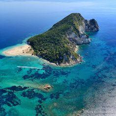 Open your eyes to nature's magnificence #amazing #beach #marathonissi #turtleisland #laganasbay #zakynthos #greece