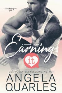 Earning It by Angela Quarles  Release Day  Cover Design: Sara Eirew  Release Date: October 4 2017    Synopsis  One blind date. One case of mistaken identity. One Navy SEAL faced with his high school crush. What could go wrong?  To Score  Holy cow my blind date is rawr-hot. Everything in me aches to explore more with this man but I cant. Ive got too much on the line professionally with me starting at my new medical practice on shaky ground. But I cant deny that I want the sex. A fling is…