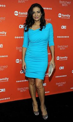 Constance Marie, Switched At Birth, Abc Family, Hollywood Actresses, Product Launch, Bodycon Dress, Formal Dresses, American, Sexy
