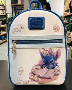 Disney Loungefly Stitch backpack cuteness from - a.- Disney Loungefly Stitch backpack cuteness from – adorable overload! - : Disney Loungefly Stitch backpack cuteness from - a.- Disney Loungefly Stitch backpack cuteness from – adorable overload! Cute Disney Outfits, Disney Themed Outfits, Cute Disney Stuff, Cute Purses, Purses And Bags, Stitch Backpack, Backpack Bags, Mochila Jeans, Cute Mini Backpacks