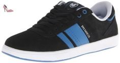 DVS Fulham, Chaussures de skateboard homme - Noir (Black Suede), 40 EU (6 UK) (7 US) - Chaussures dvs apparel (*Partner-Link)