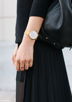 Minimal...black and gold - my favourite