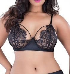 494eaec3ace3 This is the sexiest support focused bra ever& This elegant bra features lace  cupping, lined with a delicate fringe. The underwire structure ensures that  you ...
