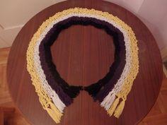Non-binary Pride Flag Crochet Scarf by DigenisFashionShop on Etsy